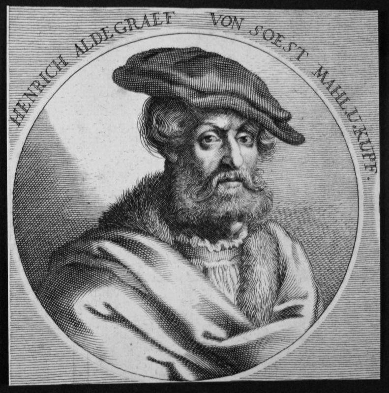 Henrich Aldegrarf von Soest - Heinrich Aldegrever Maler painter Kupferstecher copper engraver Kupferstich etch