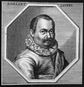 Roelant Savery - Roelant Savery Radierer engraver Maler painter Kupferstich etching Portrait