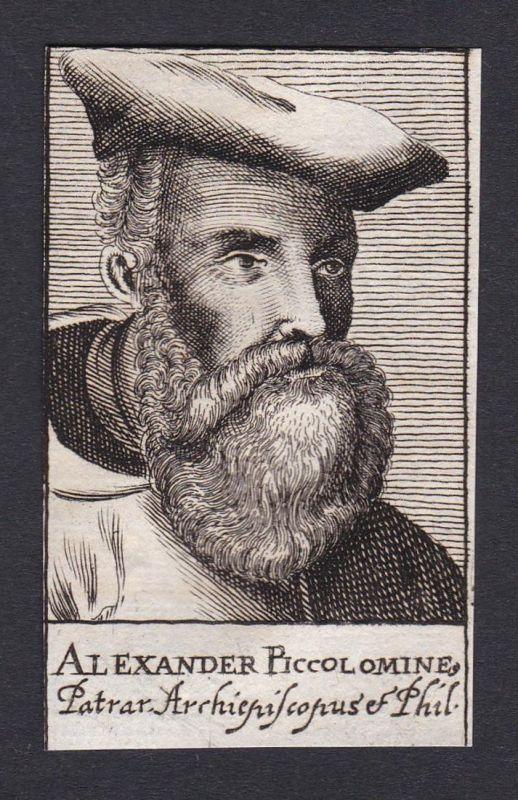 Alexander Piccolomine / Alessandro Piccolomini / poet humanist philosopher Siena