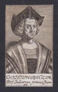 Christophorus Columbus / Christopher Columbus / explorer navigator colonizer