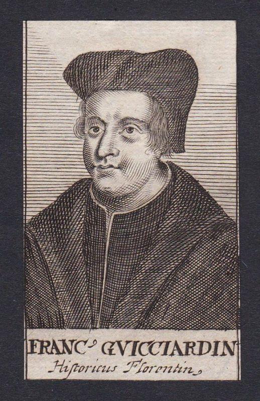Franc Guicciardin / Francesco Guicciardini / historian Firenze