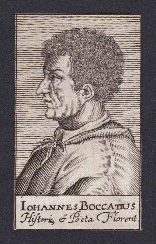 Iohannes Boccatius / Johannes Bock Hans Bock / poet diplomat educator Firenze