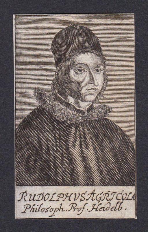 Rudolphus Agricola / Rodolphus Agricola / humanist educator musician poet diplomat Heidelberg