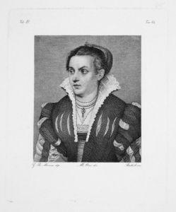 Portrait einer Frau mit Schmuck und Kleid - Portrait Schmuck Jewellery Kleid dress Frau woman