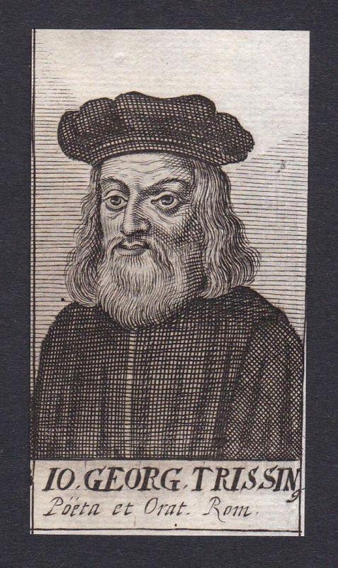 Io. Georg. Trissin / Gian Giorgio Trissino / humanist poet dramatist diplomat grammarian Roma