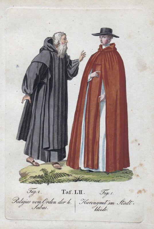 Religios vom Orden der h. Sabas / Hieronymit im Stadtkleide