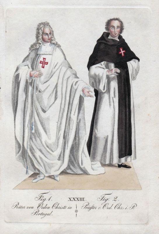 Ritter von Orden Christe in Portugal / Priester v. Ord. Chr. i. P.