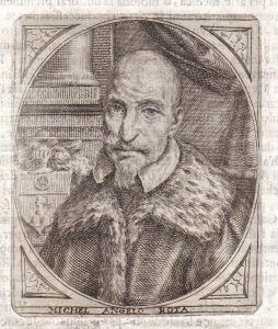 Michel Angelo Rota - Michel Angelo Rota Portrait Bergamo incisione Kupferstich antique print
