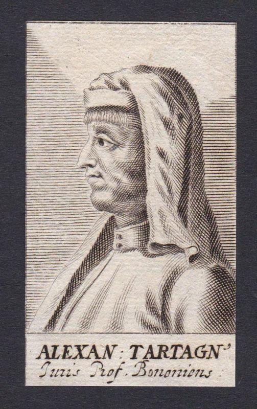 Alexan Tartagn / Alexander de Tartagnis / jurist Bologna
