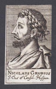 Nicolaus Grudius / Nicolaus Grudius / poet humanist Dichter Humanist Louvain