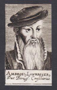 Ambrosi Lobwasser / Ambrosius Lobwasser / humanist translator Humanist Übersetzer Leipzig Sachsen