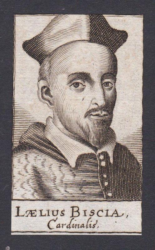 Laelius Biscia / Lelio Biscia / cardinal Kardinal Italia