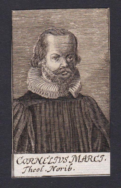 Cornelius Marci / Cornelius Marci / theologian Theologe Nürnberg