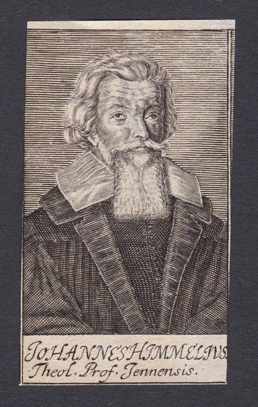 Johannes Himmelius / Johann Himmel / theologian Theologe Jena