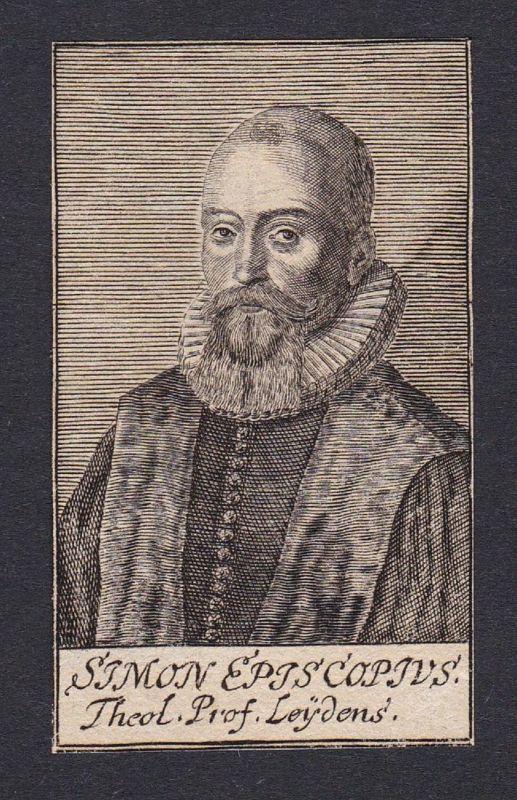 Simon Episcopius / Simon Episcopius / theologian Theologe Leiden