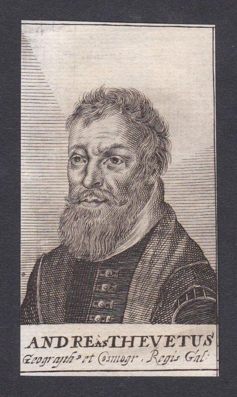 Andreas Thevetus / Andre Thevet / priest explorer cosmographer writer Priester Schriftsteller French