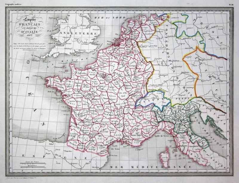 Empire Francais et Royaume d\'Italie - Frankreich France Italien ...