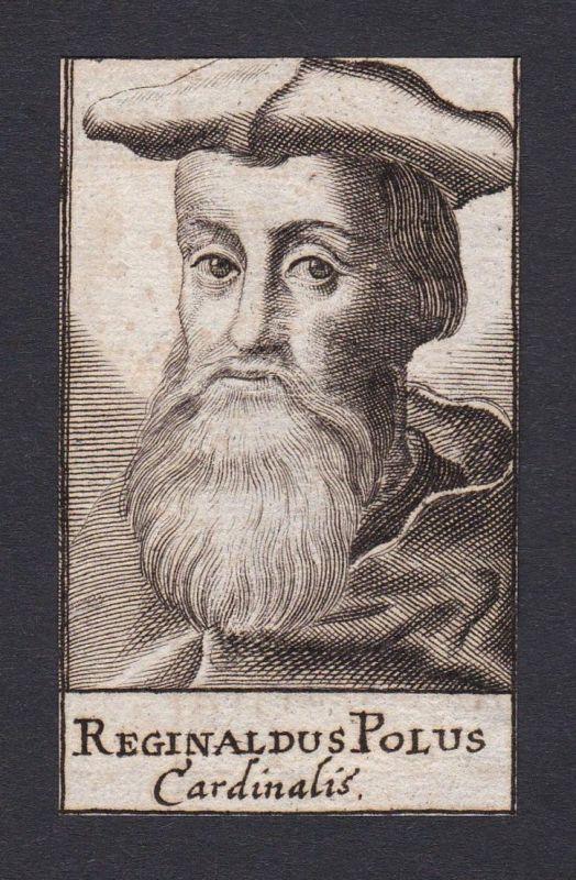 Reginaldus Polus / Reginald Pole / cardinal bishop Kardinal Bischof Canterbury