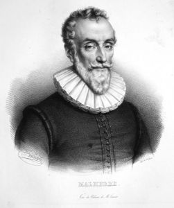 Malherbe - François de Malherbe Schriftsteller writer écrivain France Frankreich Lithographie Belliard Portrai