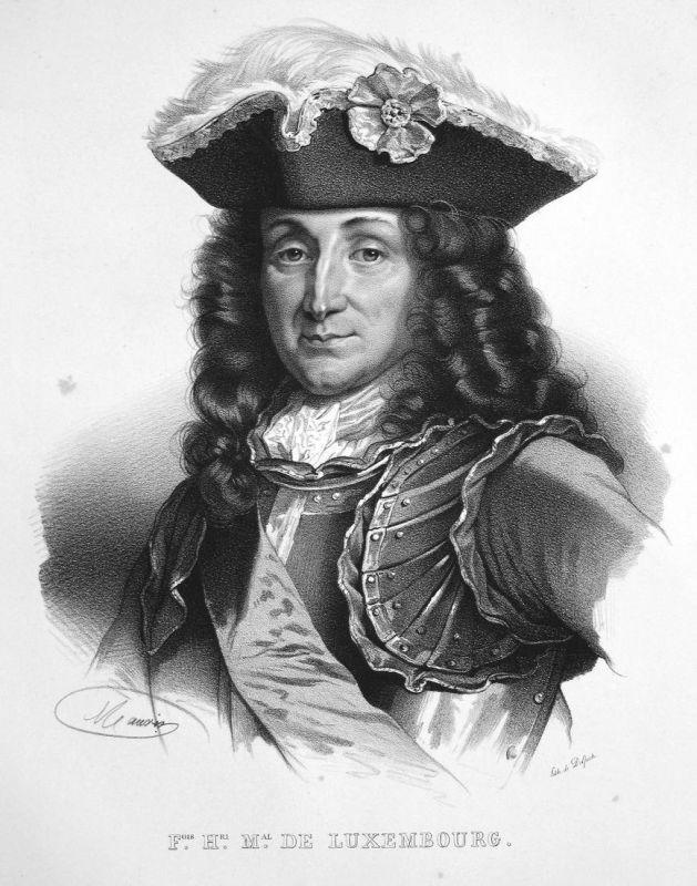 F.ois H.ri M.al de Luxembourg - François-Henri de Montmorency-Luxembourg Marschall maréchal marshal France Fra