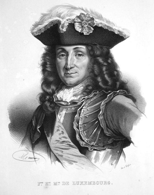 F.ois H.ri M.al de Luxembourg - François-Henri de Montmorency-Luxembourg Marschall marshal maréchal France Fra