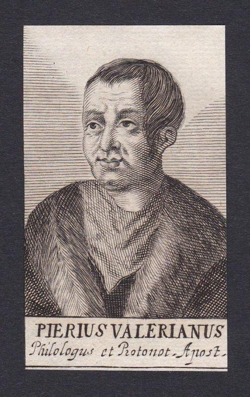 Pierius Valerianus / Giovanni Pierio Valeriano Bolzanio / humanist theologian Humanist Theologe Padova