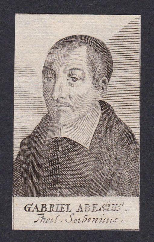 Gabriel Abesius / Gabriel Abesius / theologian Theologe Sorbonne