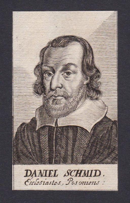 Daniel Schmid / Daniel Schmid / theologian Theologe Preßburg