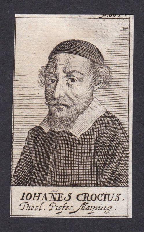 Iohanes Crocius / Johannes Crocius / theologian Theologe Marburg