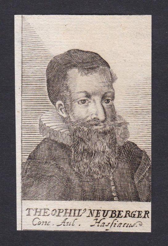 Theophil Neuberger / Theophil Neuberger / theologian Theologe Heidelberg