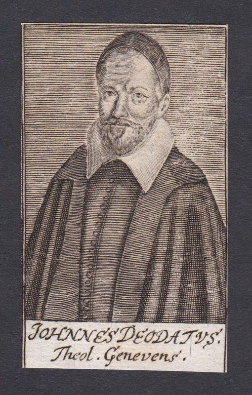 Johannes Deodatus / Johannes Deodatus Deodat / theologian Theologe Genf
