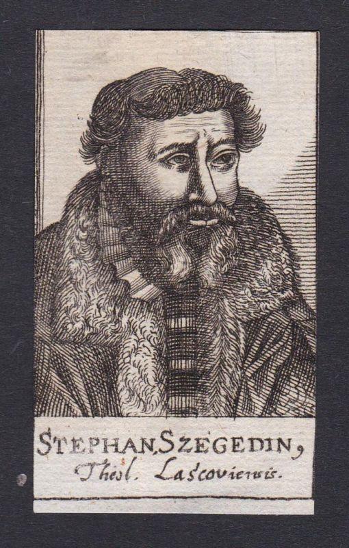 Stephan Szegedin / Stephan Szegedin / theologian Theologe Ungarn