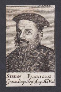 Simon Fabricius / Simon Fabricius / professor Professor Griechenland
