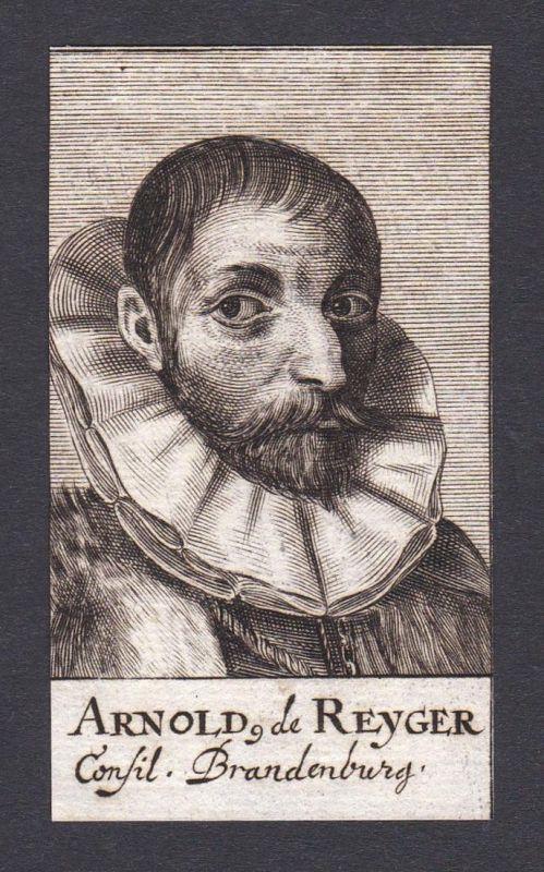 Arnold. de Reyger / Arnold von Reyger / jurist Jurist Brandenburg