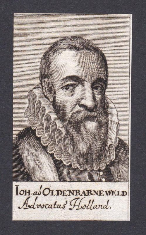 Ioh. al Oldenbarneufeld / Johan van Oldenbarnevelt / statesman Staatsmann Holland