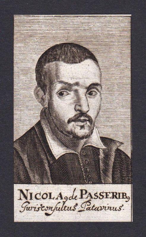 Nicola. de Passerib / Nicolai de Passeribus / jurist Jurist Genua