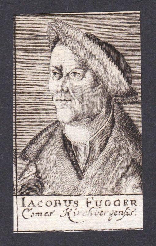 Iacobus Fugger / Jakob Fugger / merchant Kaufherr Kirchberg