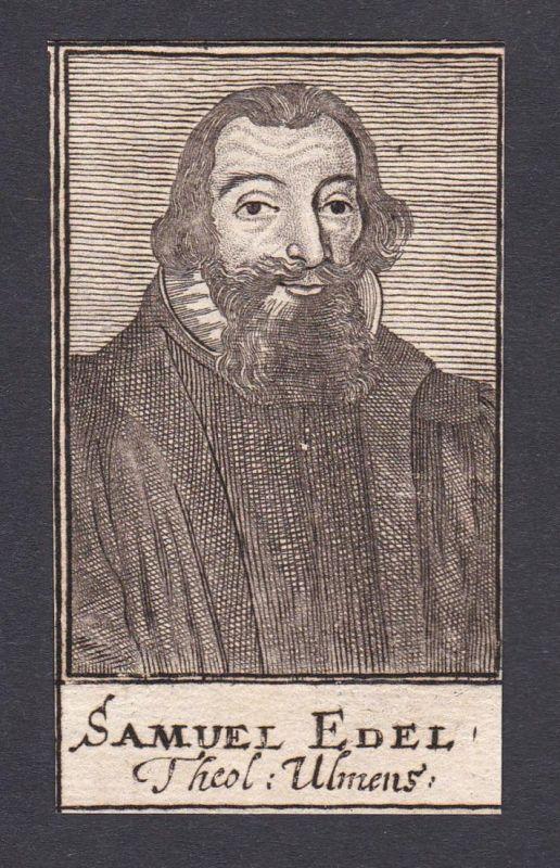 Samuel Edel / Samuel Edel / theologian Theologe Ulm