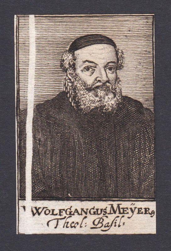 Wolfgangus Meyer / Wolfgang Meyer / theologian Theologe Basel