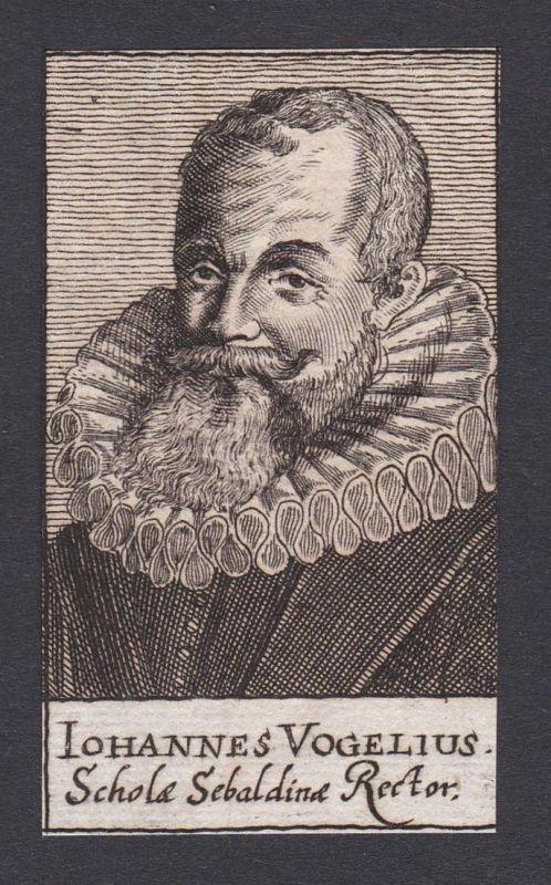 Iohannes Vogelius / Johannes Vogel / theologian Theologe Nürnberg