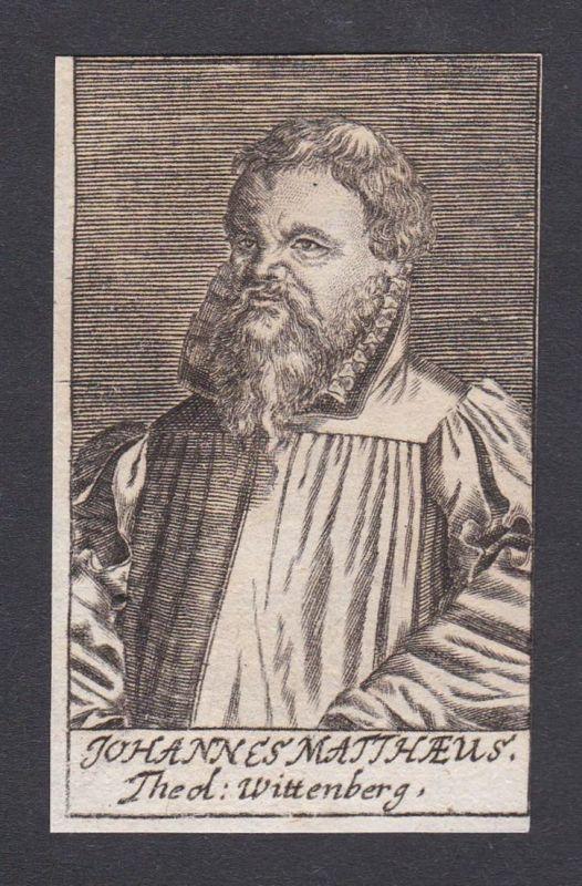 Johannes Matthaeus / Johannes Matthaeus / theologian Theologe Wittenberg