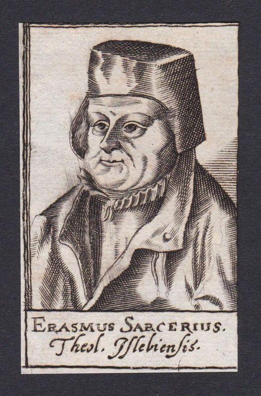 Erasmus Sarcerius / Erasmus Sarcerius / theologian Theologe Annaberg
