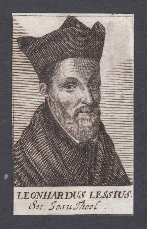 Leonhardus Lessius / Leonhardus Lessius / theologian Theologe Antwerpen