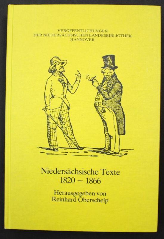 Niedersächsische Texte. 1820-1866.