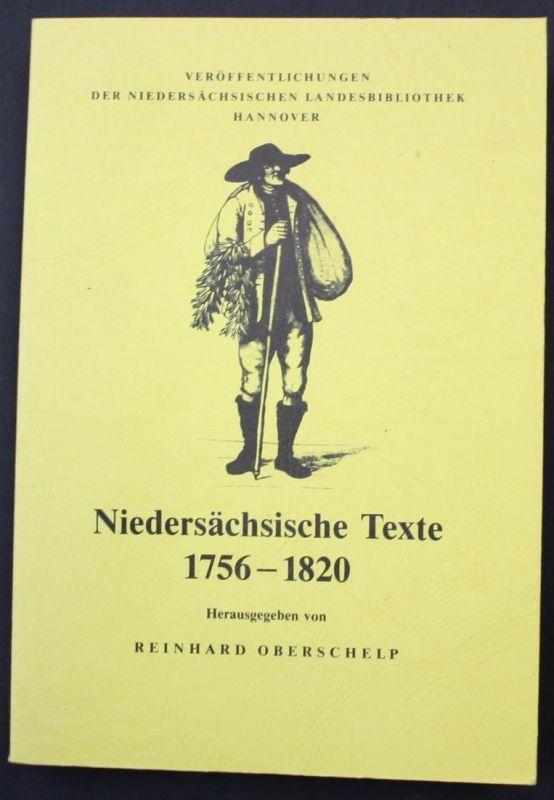 Niedersächsische Texte. 1756-1820
