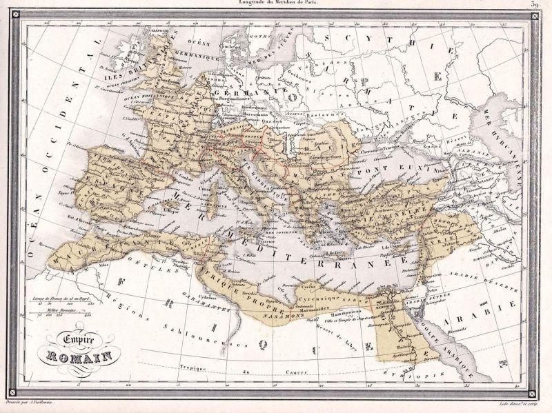 Empire Romain - Italia Africa France Spain Germany Russia Poland Italien Afrika Frankreich Spanien Deutschland