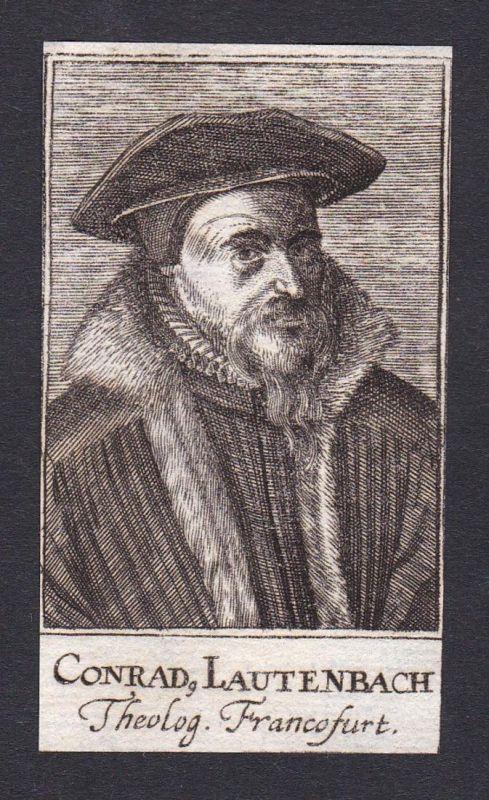 Conrad Lautenbach / Conrad Lautenbach / theologian Theologe Frankfurt