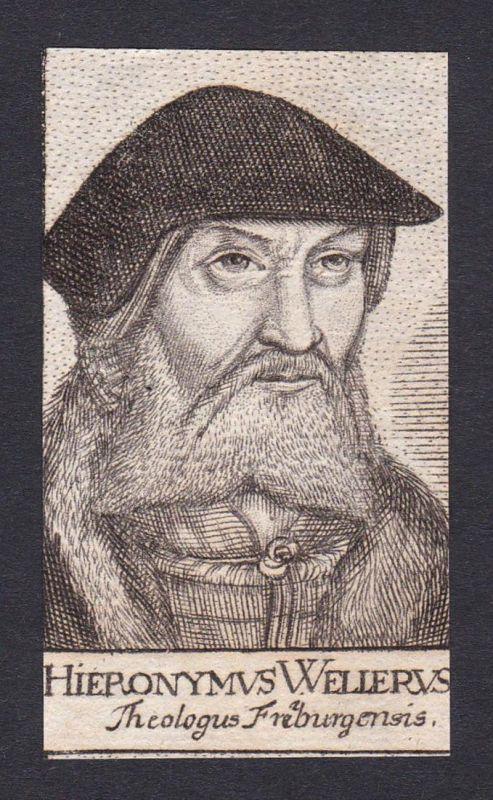 Hieronymus Wellerus / Hieronymus Weller / theologian Theologe Freiberg