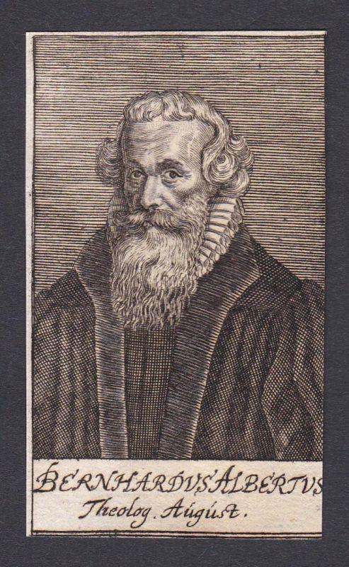 Bernhardus Albertus / Bernhardus Albertus / theologian Theologe Augsburg