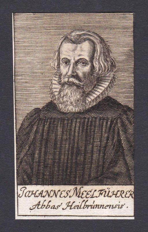 Johannes Meelführer / Johannes Meelführer / theologian Theologe Heilsbronn